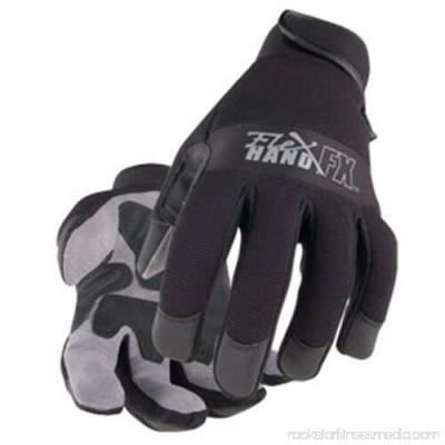 Black Stallion 19FX-BLK FlexHand Reinforced Mechanic's Gloves Small to 2XL