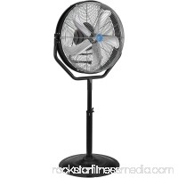 "CD Industrial 24"" Internal Orbital Pedestal Fan, 7,765CFM, 1/8HP, Lot of 1"