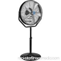 CD Industrial 24 Internal Orbital Pedestal Fan, 7,765CFM, 1/8HP, Lot of 1
