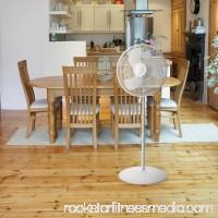 Lasko 16 Oscillating Stand Fan in White 554247397