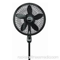 Lasko 18 Inch Oscillating Cyclone Pedestal Stand Fan w/ Remote Control (2 Pack)