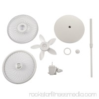 """Lasko 18"""" Stand 3-Speed Fan with Cyclone Grill, Model #S18902, White   551129381"""