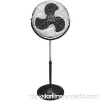 Optimus 18 Industrial High Velocity Stand 3-Speed Fan, Model #F-4184, Black 551867846