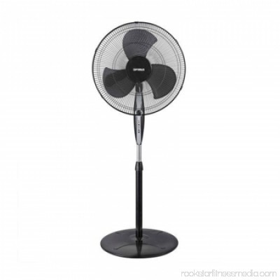 Optimus 18 Oscillating Stand Fan - Black 555937269