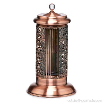 DecoBREEZE Tower Fan 2-Speed 14-Inch Tower Table Fan, Antique Copper 566232835