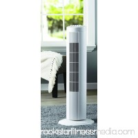 Mainstays 27 Oscillating Tower 3-Speed Fan, Model #FZ10-10NW, White 568020247