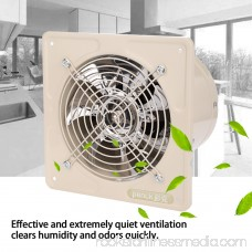 40W 220V Wall Mounted Exhaust Fan Low Noise Home Bathroom Kitchen Garage Air Vent Ventilation, Bathroom Vent Fan, Bathroom Window Exhaust Fan