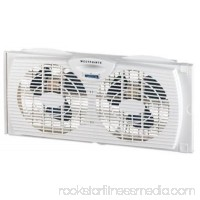 NEW Westpointe Twin Window Fan Twin 6 Blades Designed To Fit Into Most Do