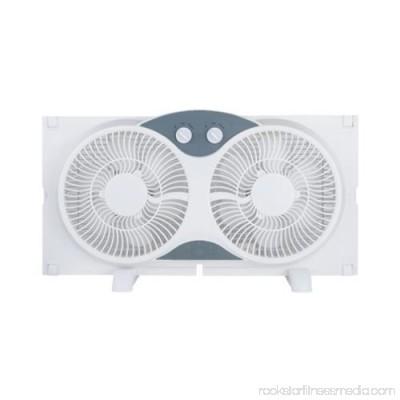 Ningbo Konwin Electrical Appliance WF-008 Twin Window Fan, 9-In.