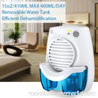 1byone Dehumidifier Mini Safe Electric Quiet Small Dehumidifiers With Auto-off Function Lightweight and Portable for Damp Air,Moisture in Home,Car,Bedroom,Kitchen,Basement,Office,Wardrobe