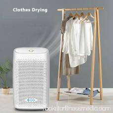 AUGIENB Mini Portable Electric Dehumidifier , Air Moisture Drying Absorber Dryer Humidity Control,Auto Shut-off,For Home Basement Closet Bathroom Cupboard Wardrobe