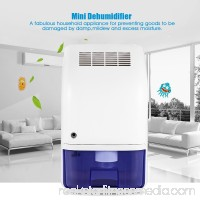 AUGIENB Mini Portable Electric Dehumidifier , Air Moisture Drying Absorber Dryer Humidity Control,Auto Shut-off,For Home Basement Closet Bathroom Cupboard Wardrobe
