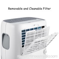 Goplus Portable 70 Pint Dehumidifier Humidity Control with Casters Washable Air Filter
