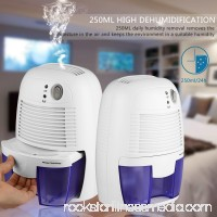 Mini Electric Dehumidifier for Basement Bedroom Kitchen Bathroom Caravan Closet