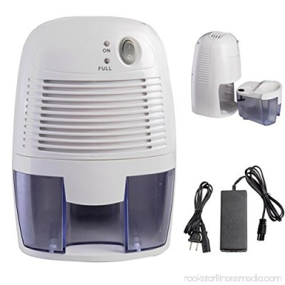 Mini Portable Quiet Electric Home Drying Moisture Absorber Air Room Dehumidifier