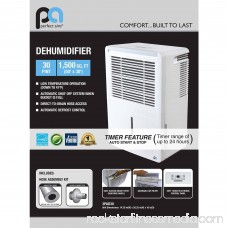 Perfect Aire Electric Dehumidifier, 30 pt 556001911